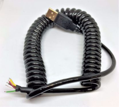 Picture of Coiled USB Cable